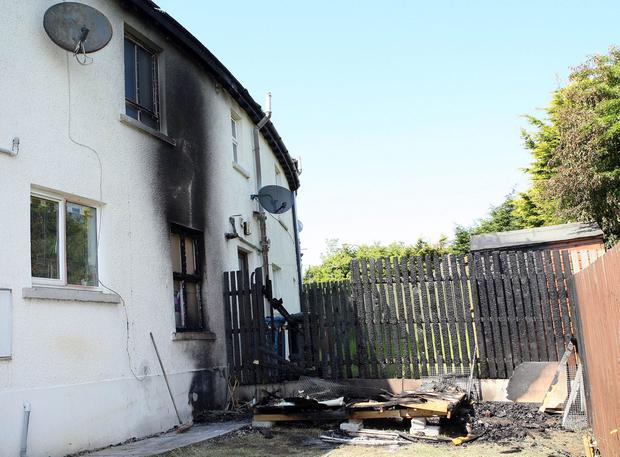 Detectives are appealing for witnesses following an arson attack in the Loranville area of Larne during the early hours of Friday morning, June 3. Picture by Freddie Parkinson/Press Eye