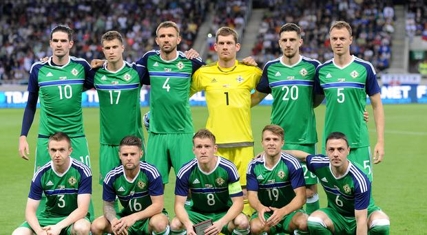 5e25d4cd11 Northern Ireland head to Euro 2016 unbeaten in 12 after Slovakia ...