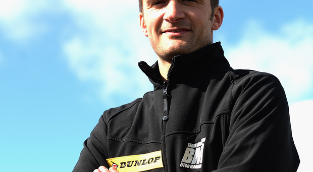 On track: Colin Turkington earned Subaru their first victory