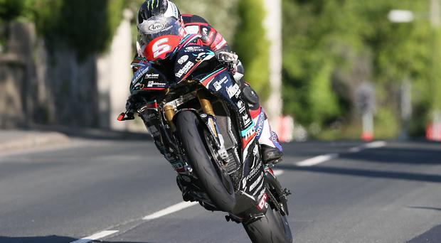 Flat out: Michael Dunlop is determined to keep raising the bar at the Isle of Man TT