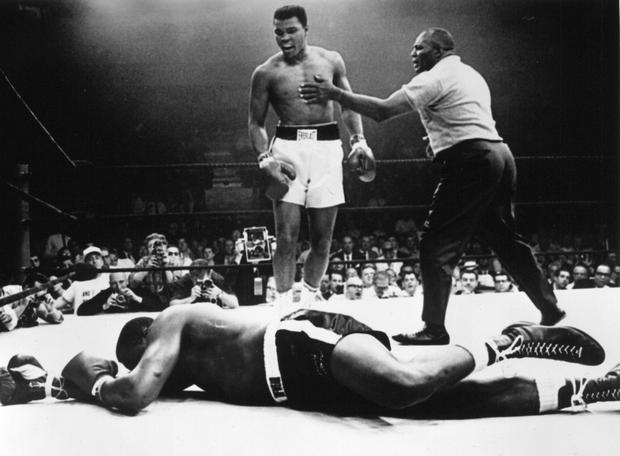 Muhammad Ali knocked out Sonny Liston in 1965
