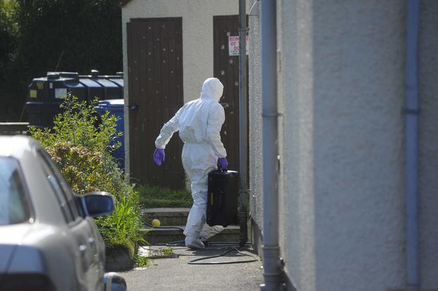 A man has been arrested following the death of a man in Holywood Co Down. Picture Mark Marlow/pacemaker press