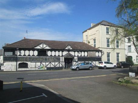 The Old Priory Inn building is located in the centre of Holywood