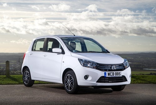 Suzuki Celerio has an ultra-low insurance rating and 78.44-mpg combined cycle fuel consumption