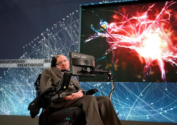 Stephen Hawking says that the mysterious, destructive, dark parts of the universe might have 'hair' that could answer one of the most puzzling paradoxes of physics