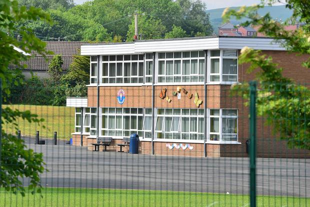 Lisburn lightning strike: Man was collecting children from school when lightning hit. Photo: Pacemaker Press