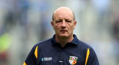 Happy: Antrim boss Terence McNaughton is delighted that the Christy Ring Cup final will be replayed