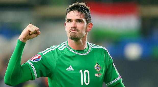 Northern Ireland's Kyle Lafferty. Picture - Kevin Scott / Presseye