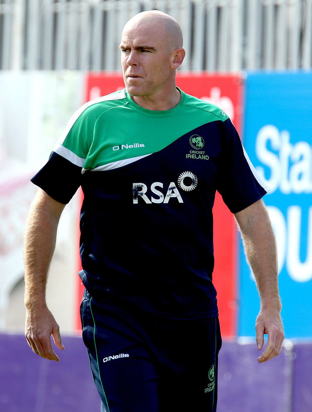 Love affair: Trent Johnson still follows Irish cricket despite moving back home to Australia