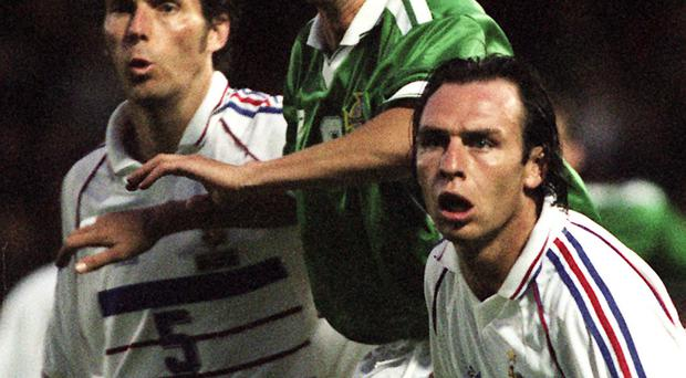 Barry Hunter, in action for Northern Ireland against France, is impressed with manager Michael O'Neill's preparations