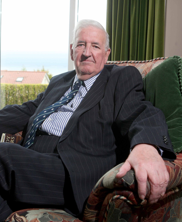 Sir Kenneth Bloomfield, Chairman of the Association for Quality Education (AQE) pictured at home