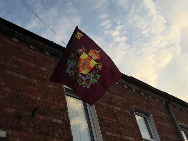The UVF has been accused of intimidation after it visited the homes of Catholics and ethnic minorities in east Belfast before loyalist flags were erected outside houses