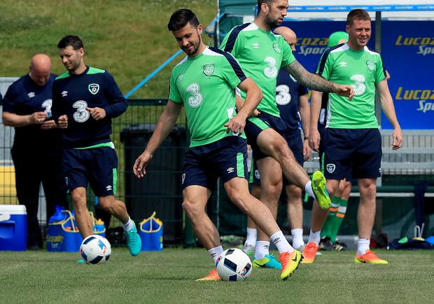 Long way: Shane Long was a fringe player when the Republic failed to make an impact at the 2012 Euro finals