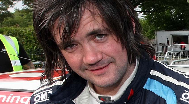 Mountain man: Garry Jennings was the winner of the Mourne Rally