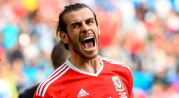 Goal machine: Gareth Bale is eight strikes away from top scorer Ian Rush
