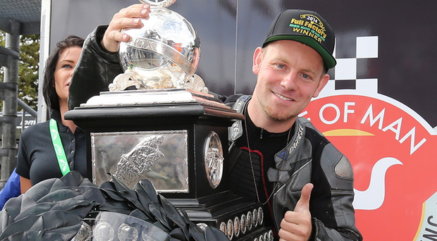 Tragedy: Andrew Soar from Leicestershire was killed during the senior race at the Isle of Man TT
