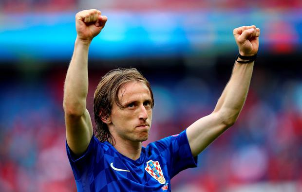 Luka Modric scored a spectacular goal for Croatia