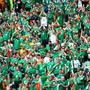Republic of Ireland supporters in the stands during the UEFA Euro 2016, Group E match at the Stade de France, Paris. John Walton/PA