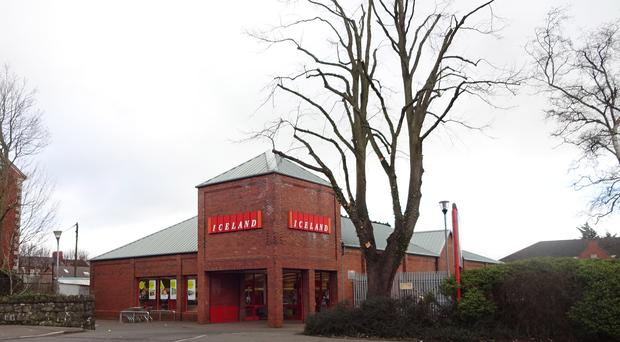 The Iceland supermarket on the Antrim Road is one of four on the market