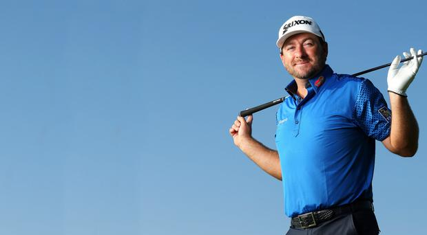 In swing: Graeme McDowell admits he has work to do on his driving game
