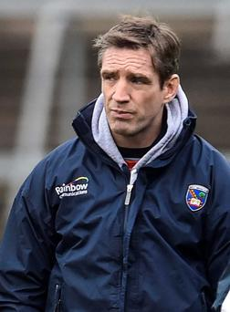 Concerned: Armagh manager Kieran McGeeney