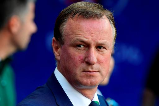 Tragedy: Michael O'Neill has paid tribute to Darren Rodgers