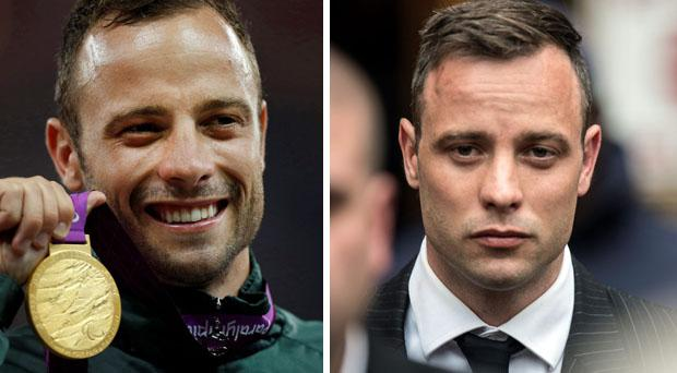 Pistorius has gone from medal winner to convicted murderer.
