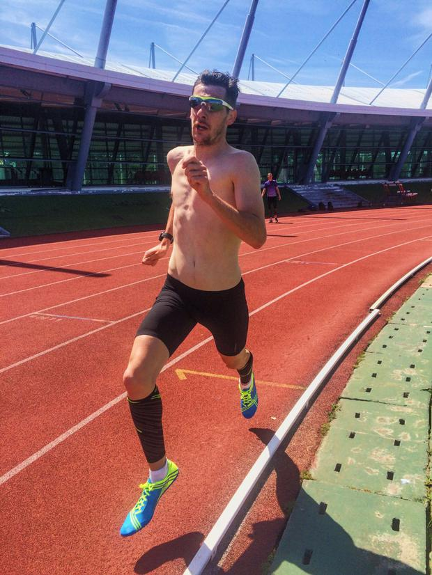Paralympian Michael McKillop is training for Rio