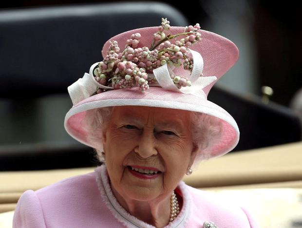 Queen Elizabeth II arrives on day two of Royal Ascot 2016, at Ascot Racecourse. PRESS ASSOCIATION Photo.