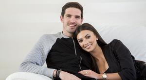 Northern Ireland International footballer Kyle Lafferty and wife Vanessa