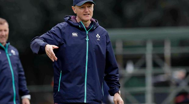 Anguish: Ireland coach Joe Schmidt