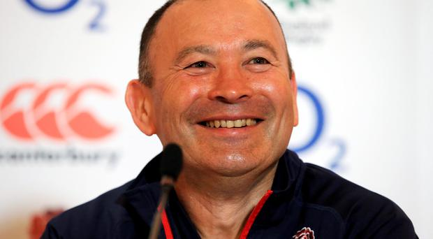 Series win: England boss Eddie Jones