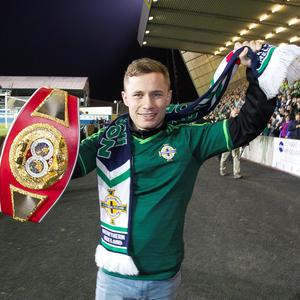Carl Frampton at Windsor Park
