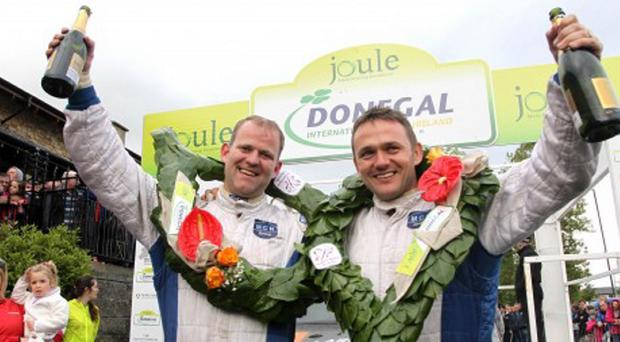 Number one: Manus Kelly outpaced rivals to claim Donegal prize