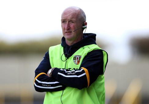 Looking ahead: Dominic McKinley knows Meath tie will be tough hurdle