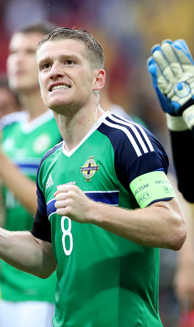 Perfect stage: Northern Ireland captain Steve Davis