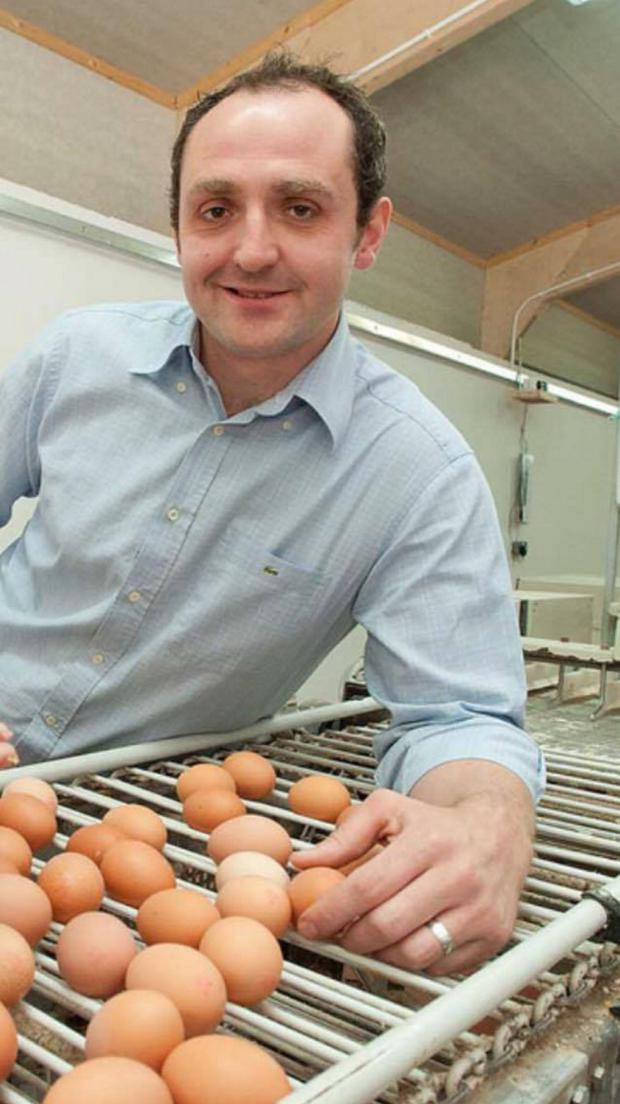 Poultry farmer Martyn Blair lives in the Co Antrim village of Finvoy