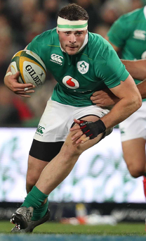 Tour end: Robbie Henshaw will play no further part in South Africa