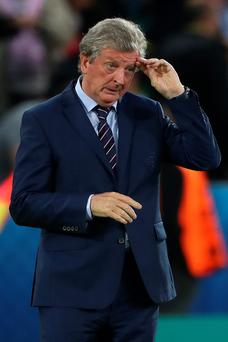 Bitter blow: Roy Hodgson's England failed to top their group