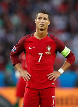 Portugal's Cristiano Ronaldo has not been in his best form at the Euros