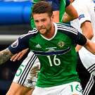 Hard night: Oliver Norwood hailed Germany as the best team he's faced