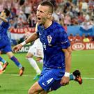 Ivan Perisic scored a late winner for Croatia
