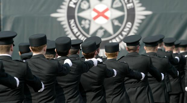 Probe: Some new PSNI recruits are being investigated. File image