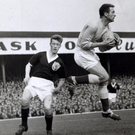 Legend: Harry Gregg was voted best goalkeeper of the tournament at the 1958 World Cup, where Northern Ireland reached the quarter-finals
