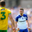 Ready to roar: Monaghan star Conor McManus has the quality to punish Donegal