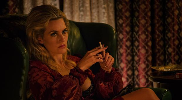 Kate Winslet in Triple 9. Photo: PA Photo/Entertainment One