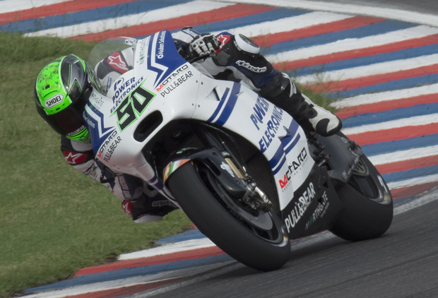 Looking ahead: Eugene Laverty has targeted a top-10 finish at Assen to climb back up the MotoGP standings