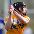 To the fore: Ciaran Clarke will hope to have a big say for the Saffrons