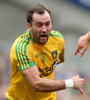 Available: Donegal's Karl Lacey