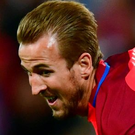 Net gain: Harry Kane is hoping to find his shooting boots